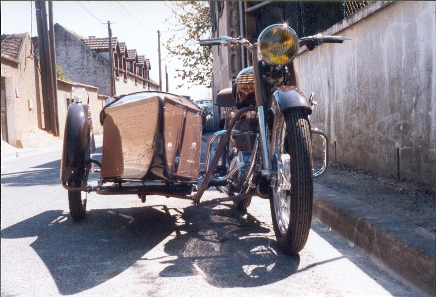 moto jouvence cat gorie side cars side car pw de fabrication artisanale 1. Black Bedroom Furniture Sets. Home Design Ideas
